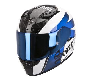 KNIGHT 710 AIR Hvid/blå Kun M